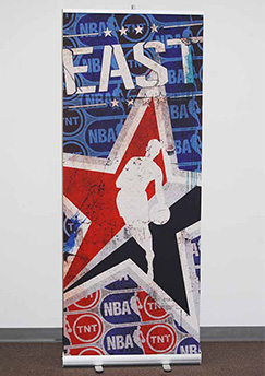 NBA-Themed Retractable Banner