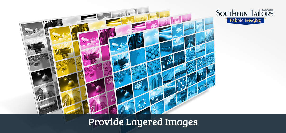 Picture of Layered Images Providing Better Results for Artwork Printing Preparation