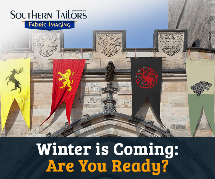 A Game of Thrones Heraldry: Sigils Flags and Gonfalons